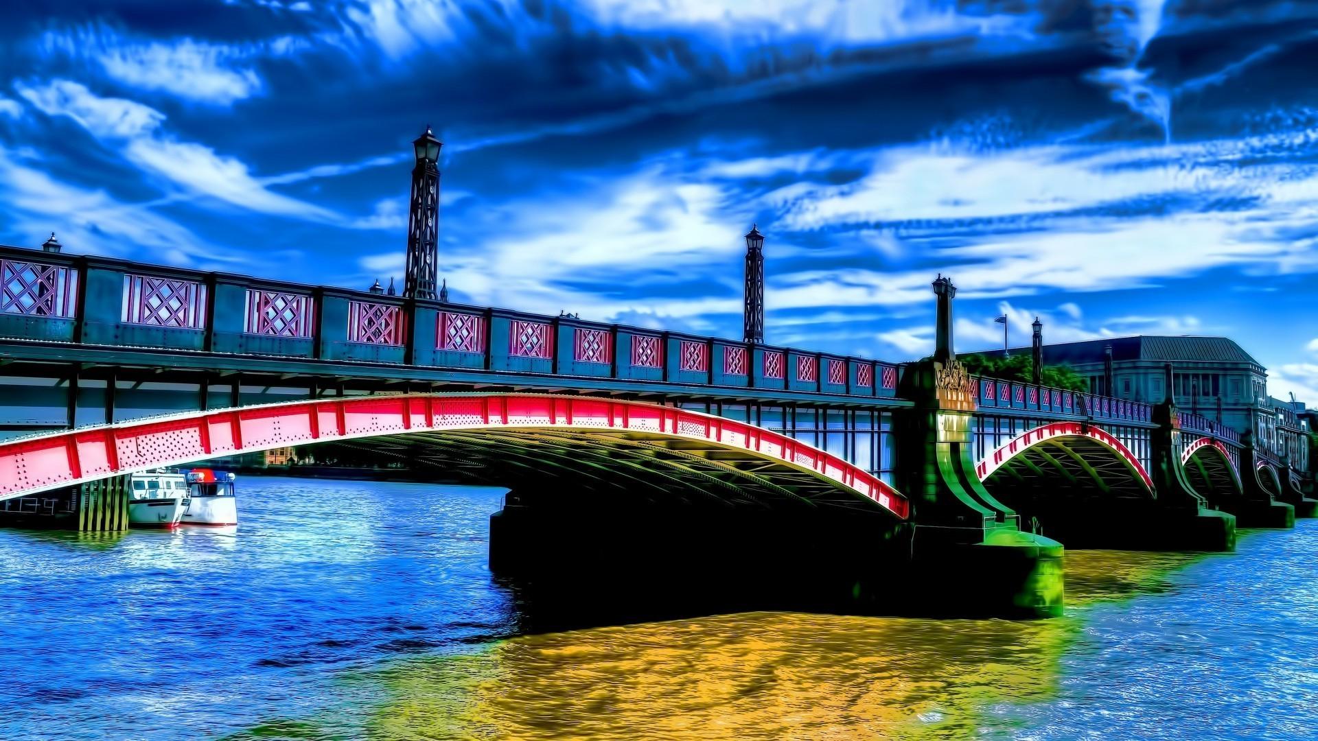 картинки на телефон мосты представляет