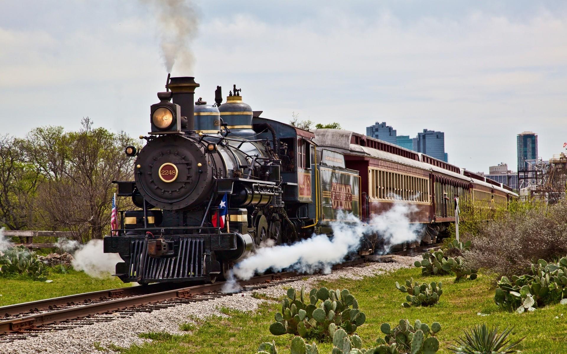 Фотографии старых поездов — pic 9