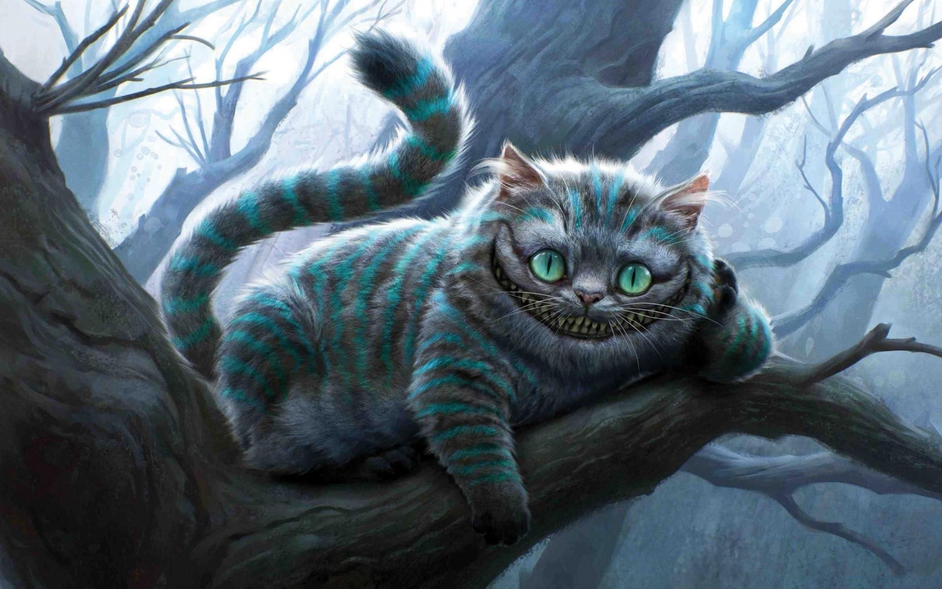 Картинки с чеширским котом из фильма алиса, сентября