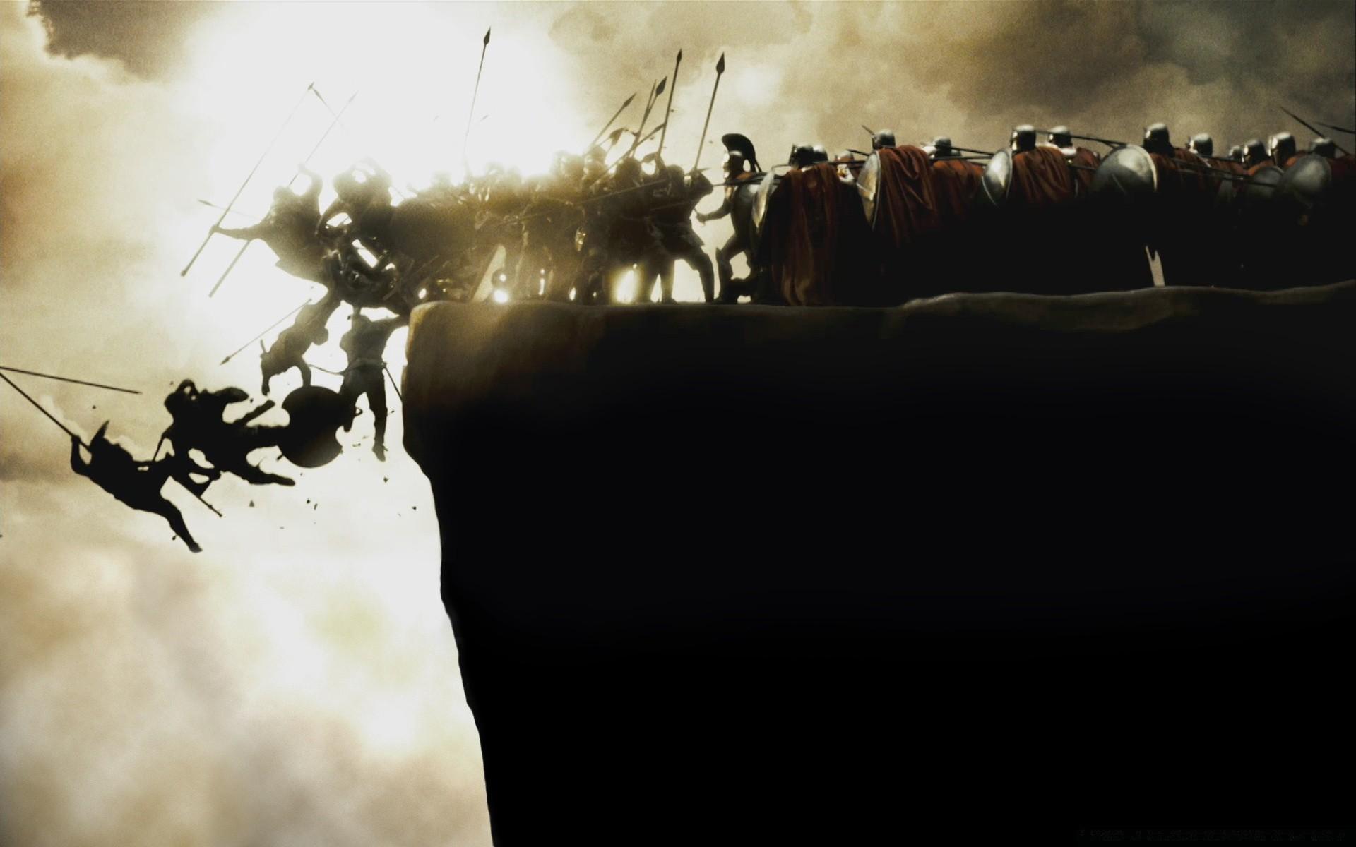 Воин на скале бесплатно