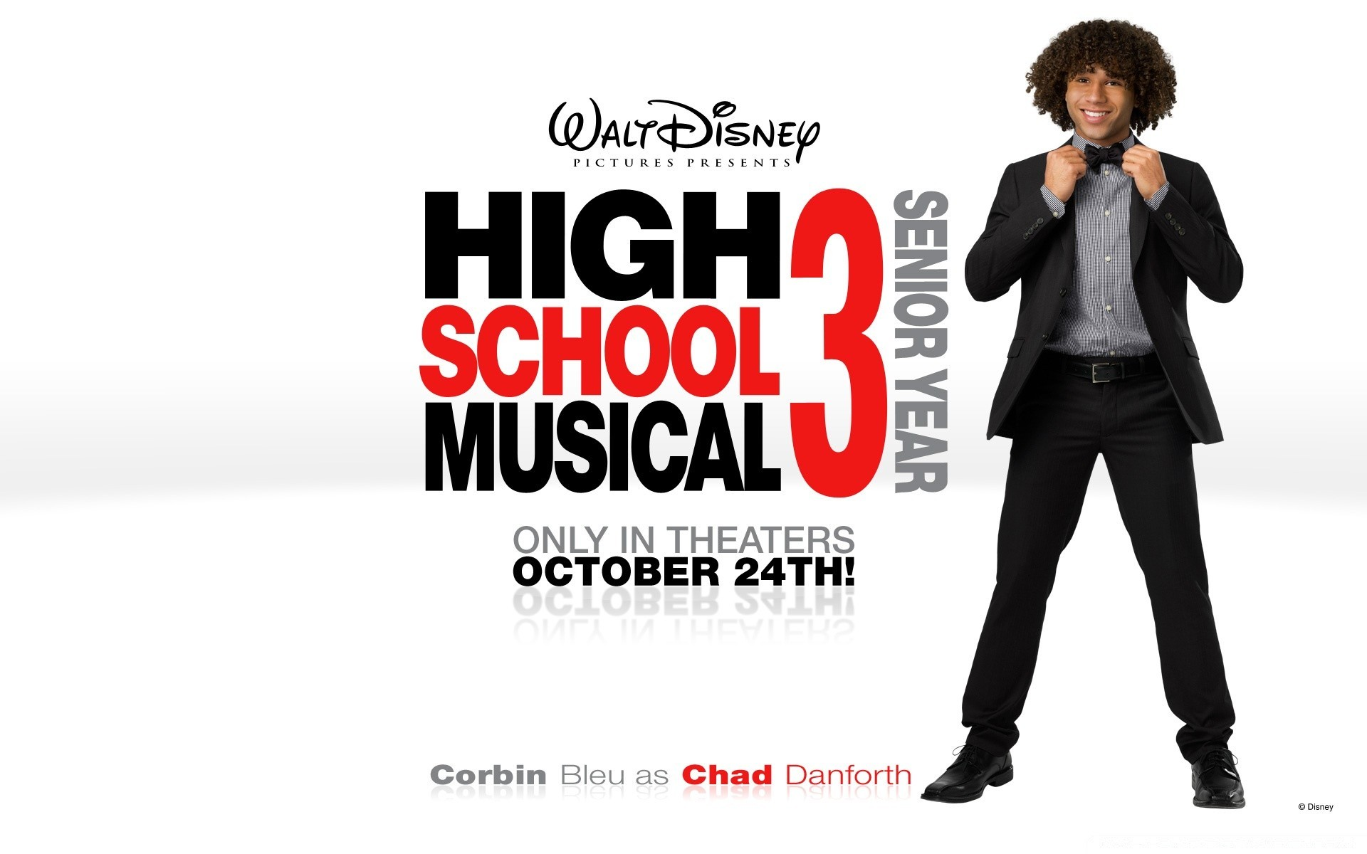 Корбин Блю, как Чад Данфорт High School Musical