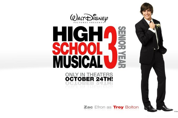 Зак Эфрон в Троя Болтона High School Musical
