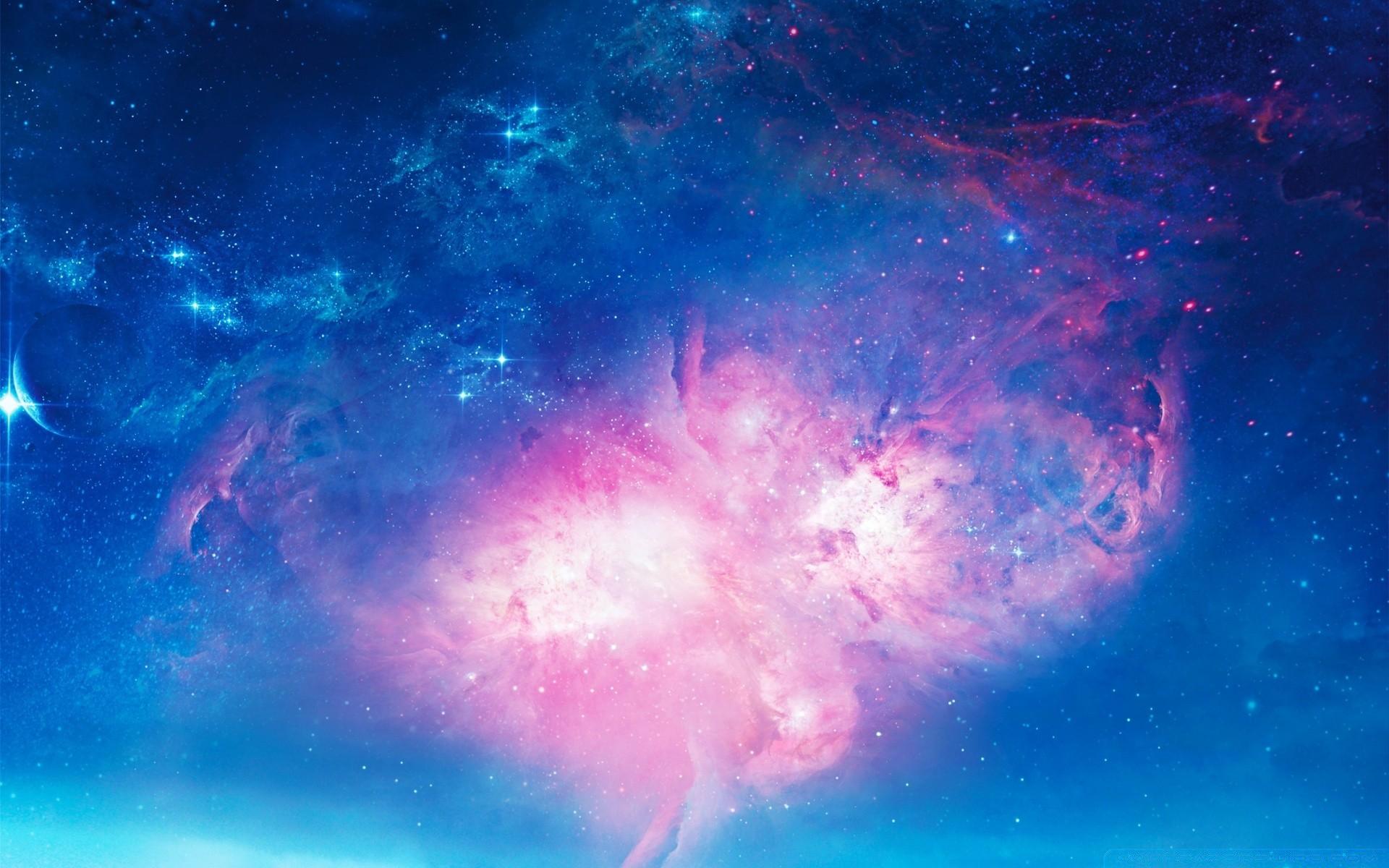 потом, вряд обои на рабочий стол розовый космос этой фотографии есть