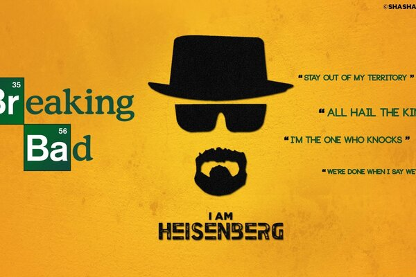 Гейзенберг Breaking Bad
