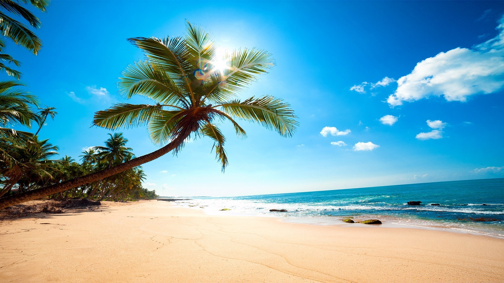 Картинки пляжа обои
