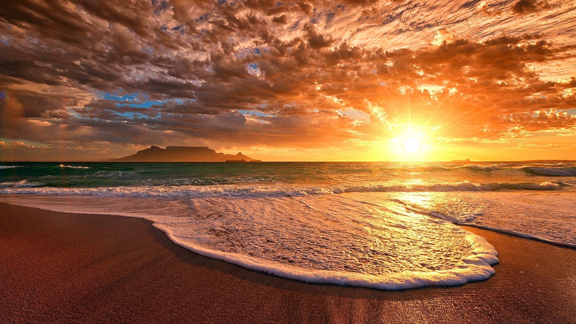 картинка закат океан все это летит