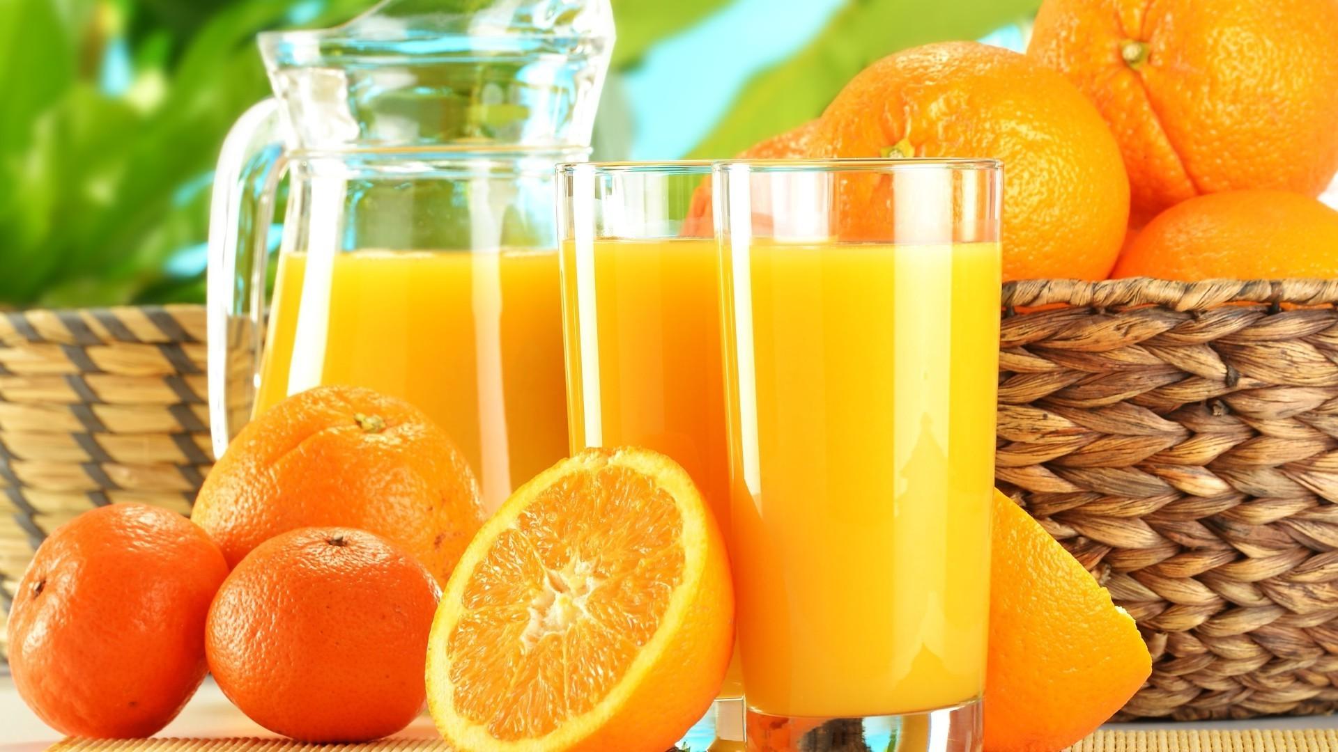 Обои апельсин, цитрусы, виноград, напиток, сок. Еда foto 10