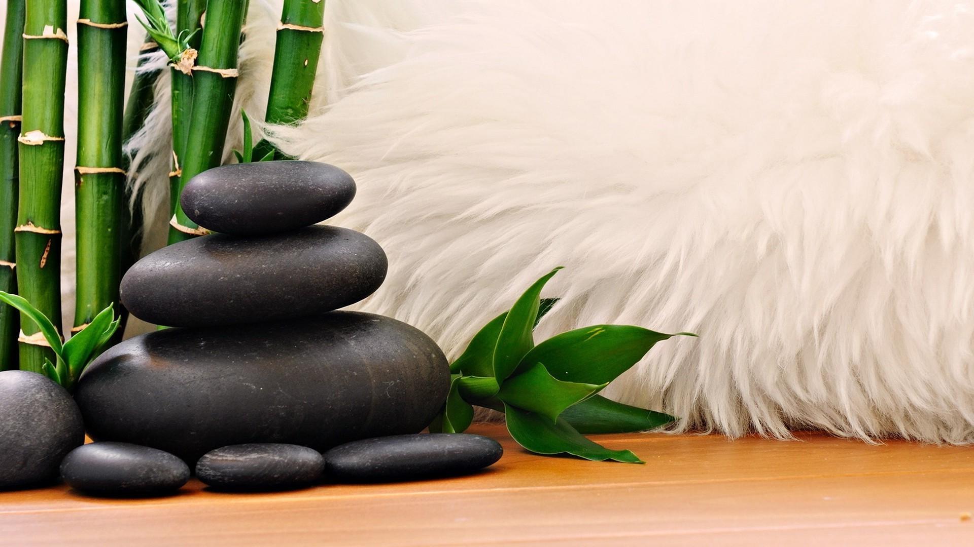 Камушки бамбук стол онлайн
