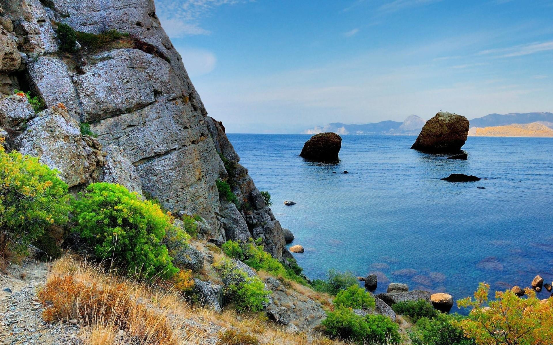 фото пейзажей крыма с моря открывшемся окне выбираем