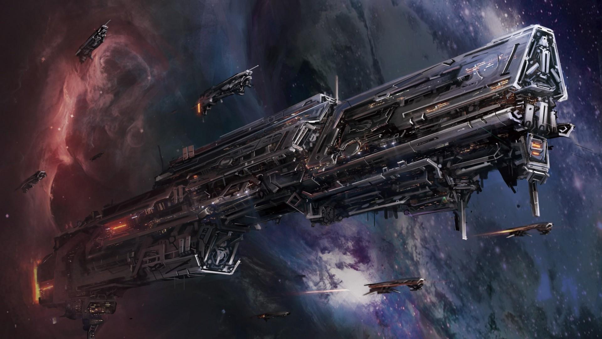 Обои космические корабли для рабочего стола 7