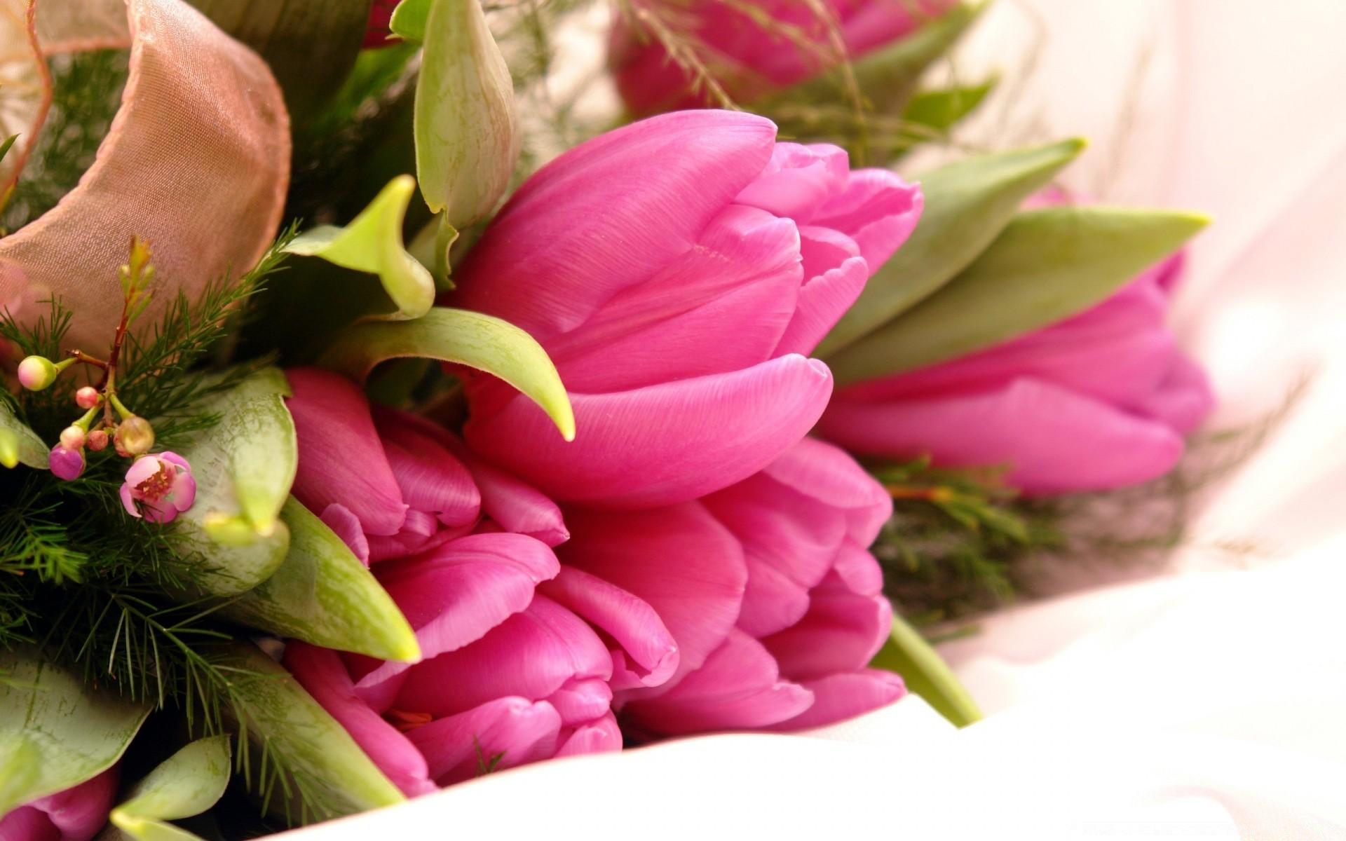 Открытка на рабочий стол цветы