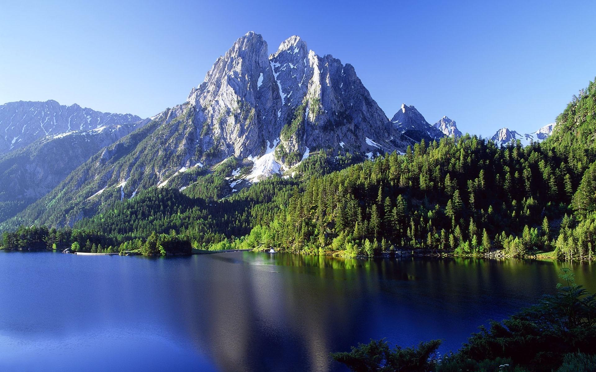 Днем, красивые горы картинки