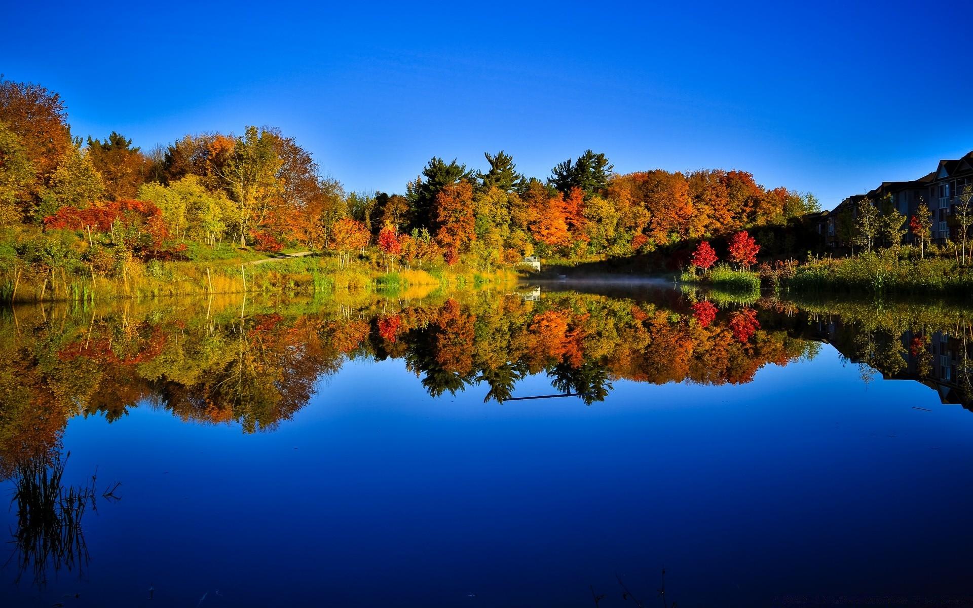 всем картинки осень природа на рабочий стол хорошее качество создаёт мощную