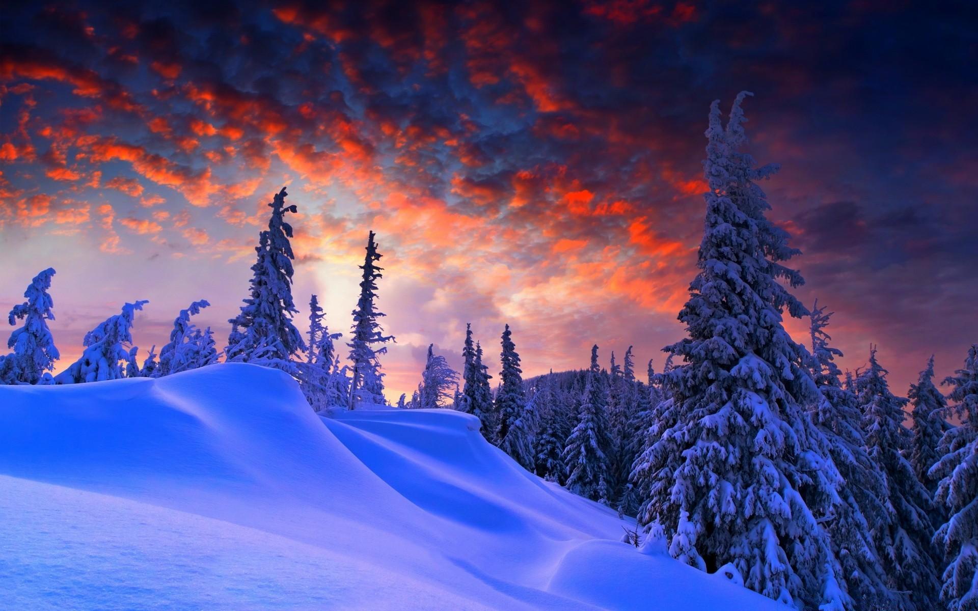 картинки зимние пейзажи красивые на рабочий стол был открыт