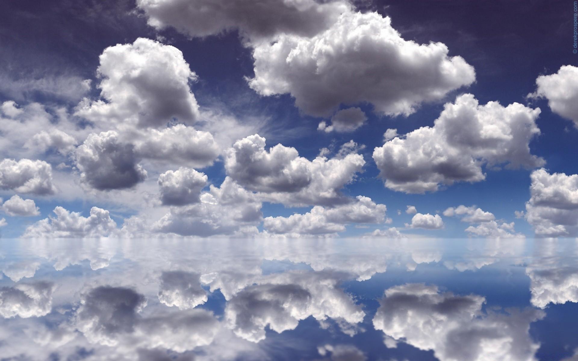 Обои небо с облаками