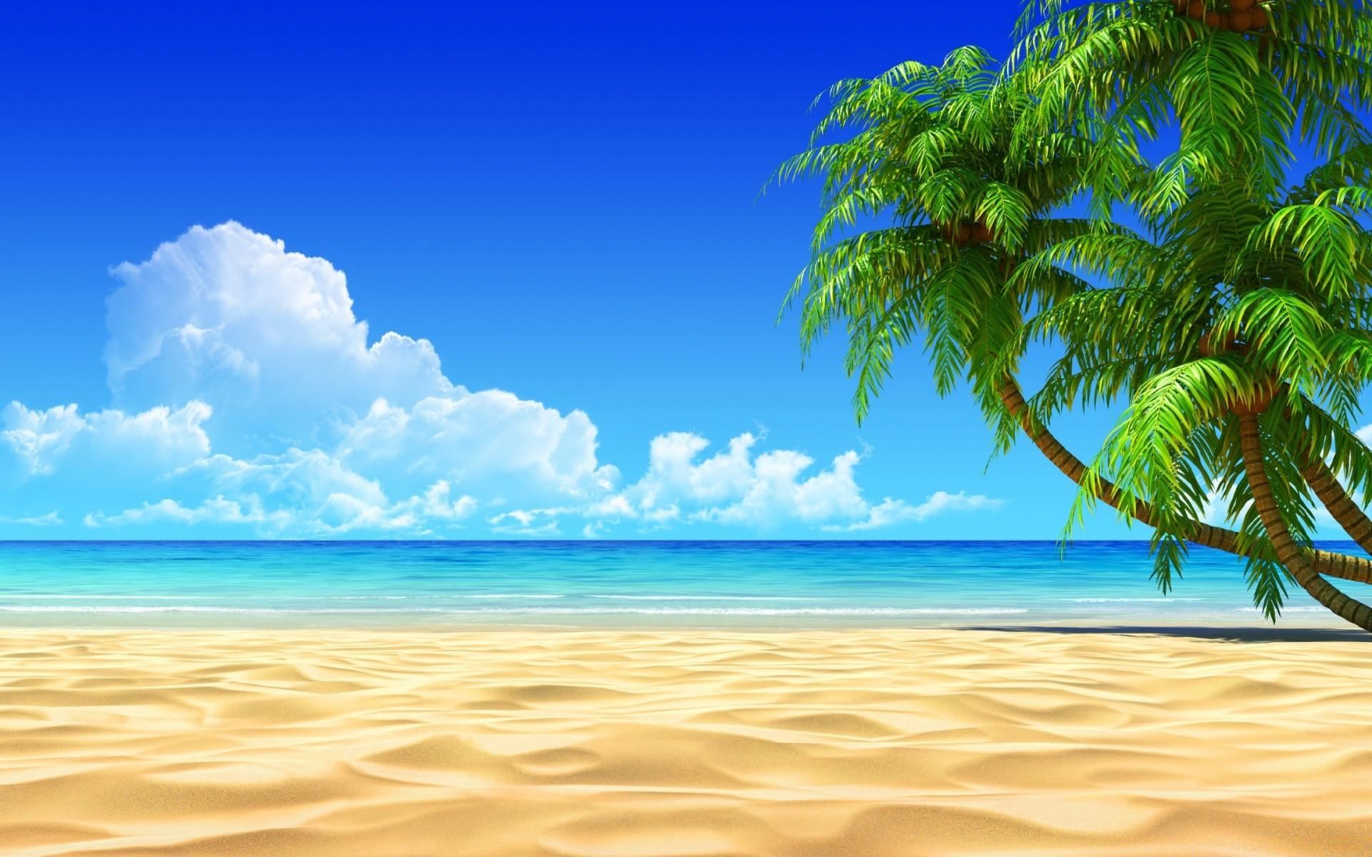 3d обои на рабочий стол пляж № 563146 без смс