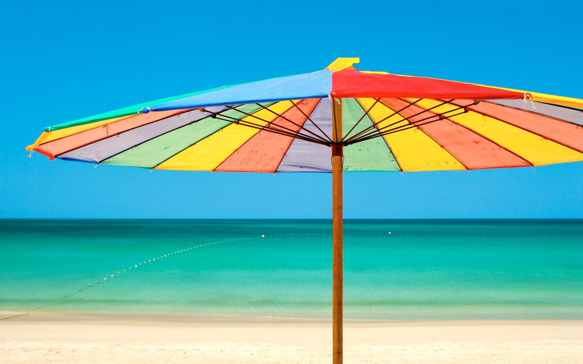 Сдачей, картинка пляжный зонтик