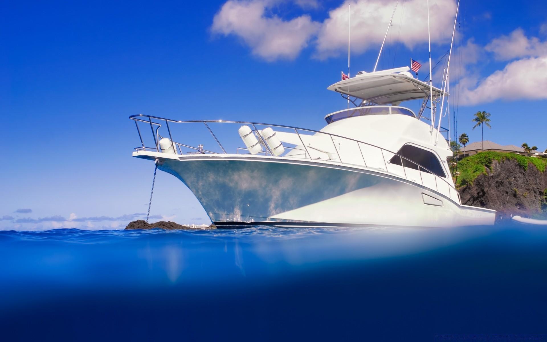 Открытки с яхтой, реальность