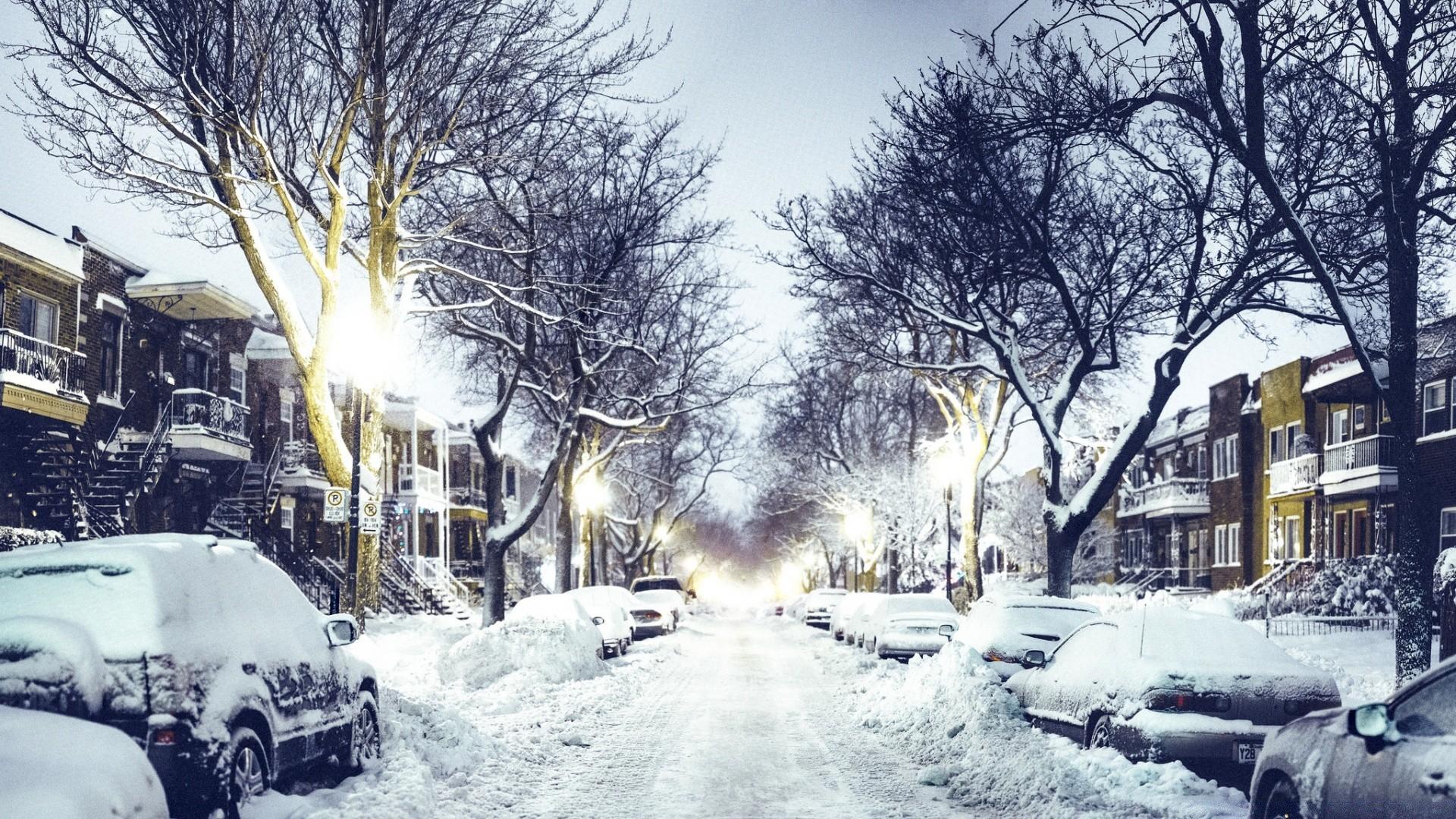 картинка зима город на рабочий стол унитаз