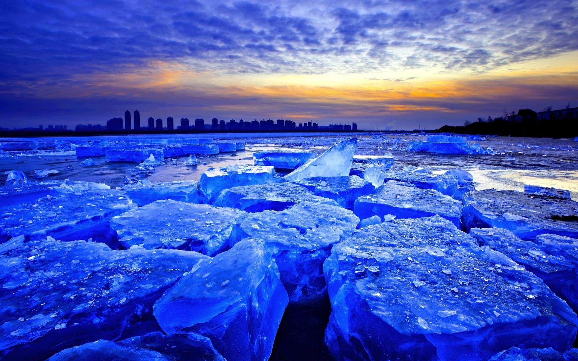солнце льдины фокус  № 3229536 загрузить