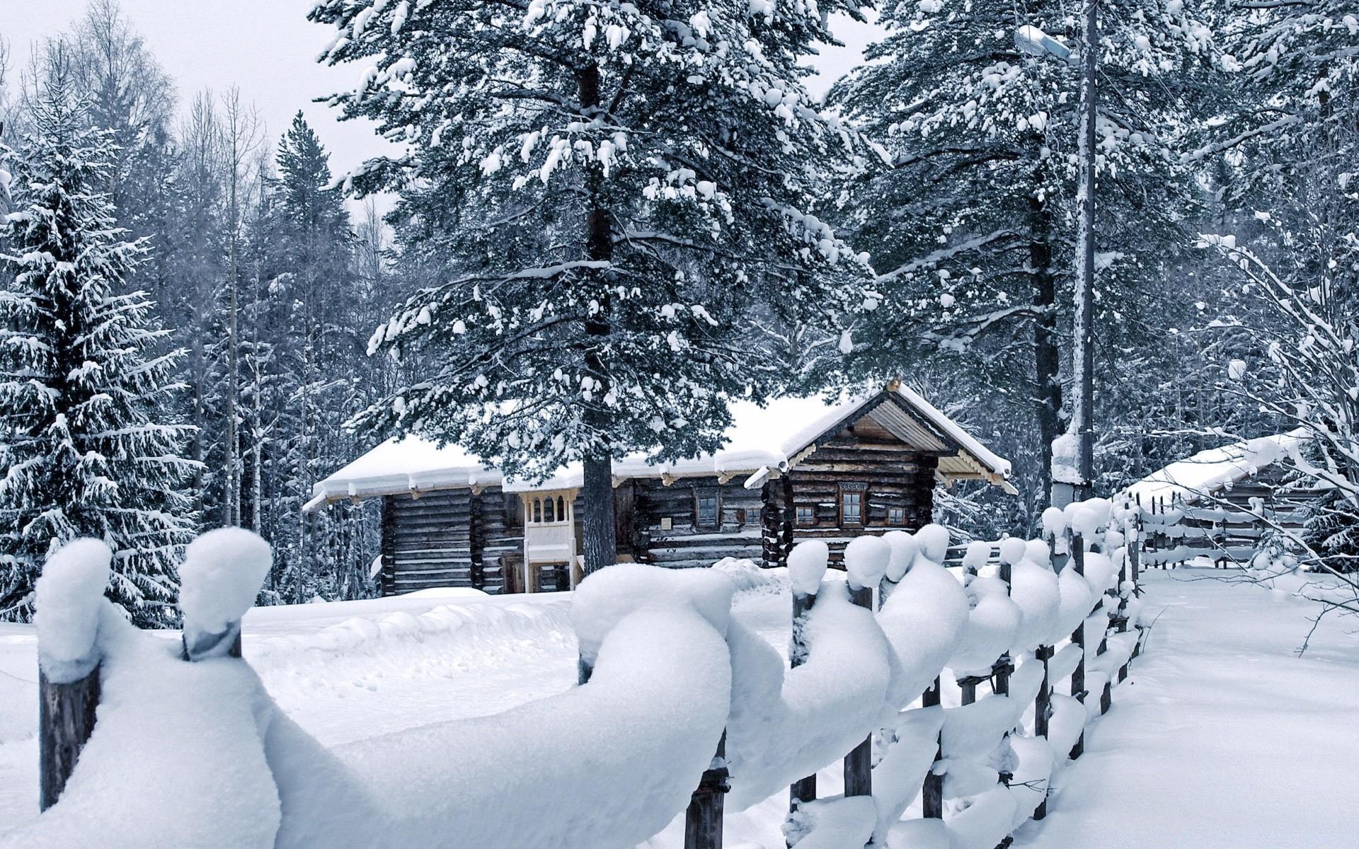 стала картинки для рабочего стола зима в деревне технику
