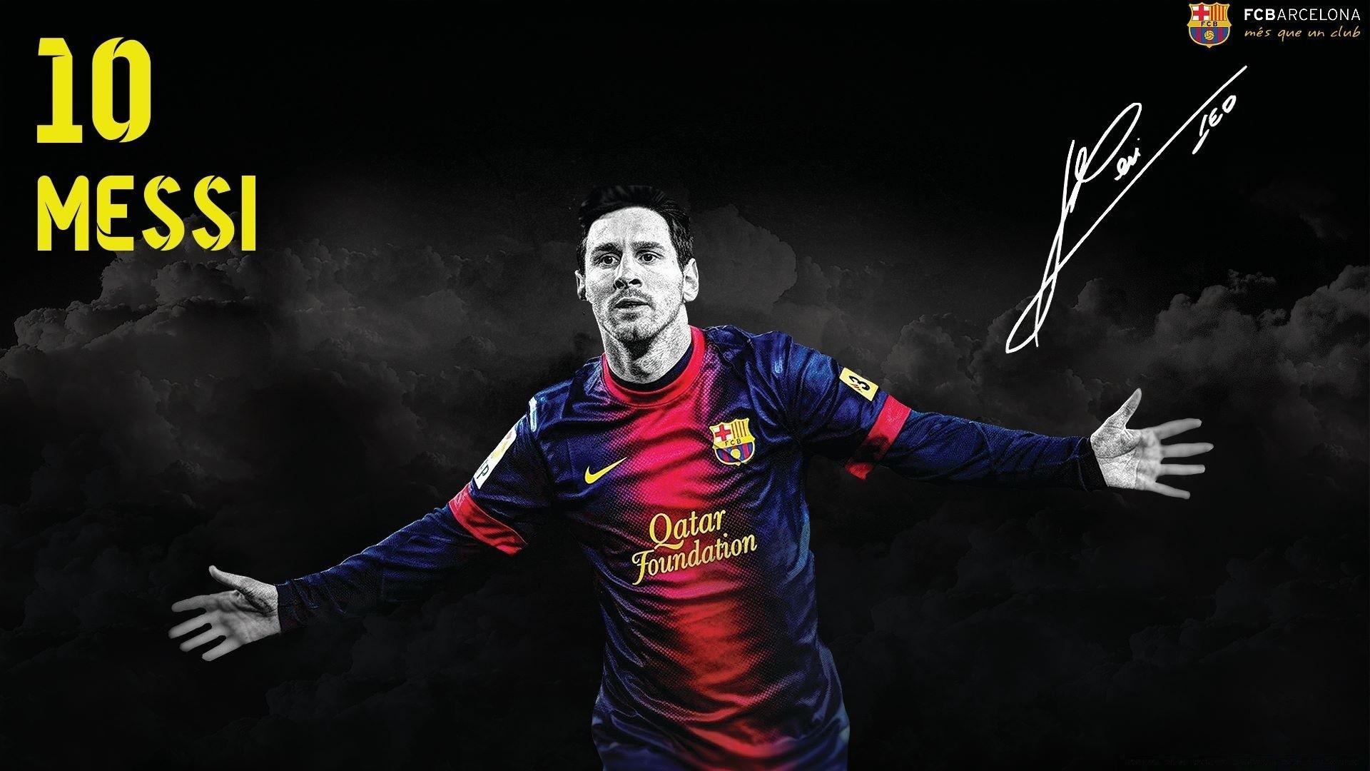 Messi Wallapaper Barselona Oboi Dlya Rabochego Stola