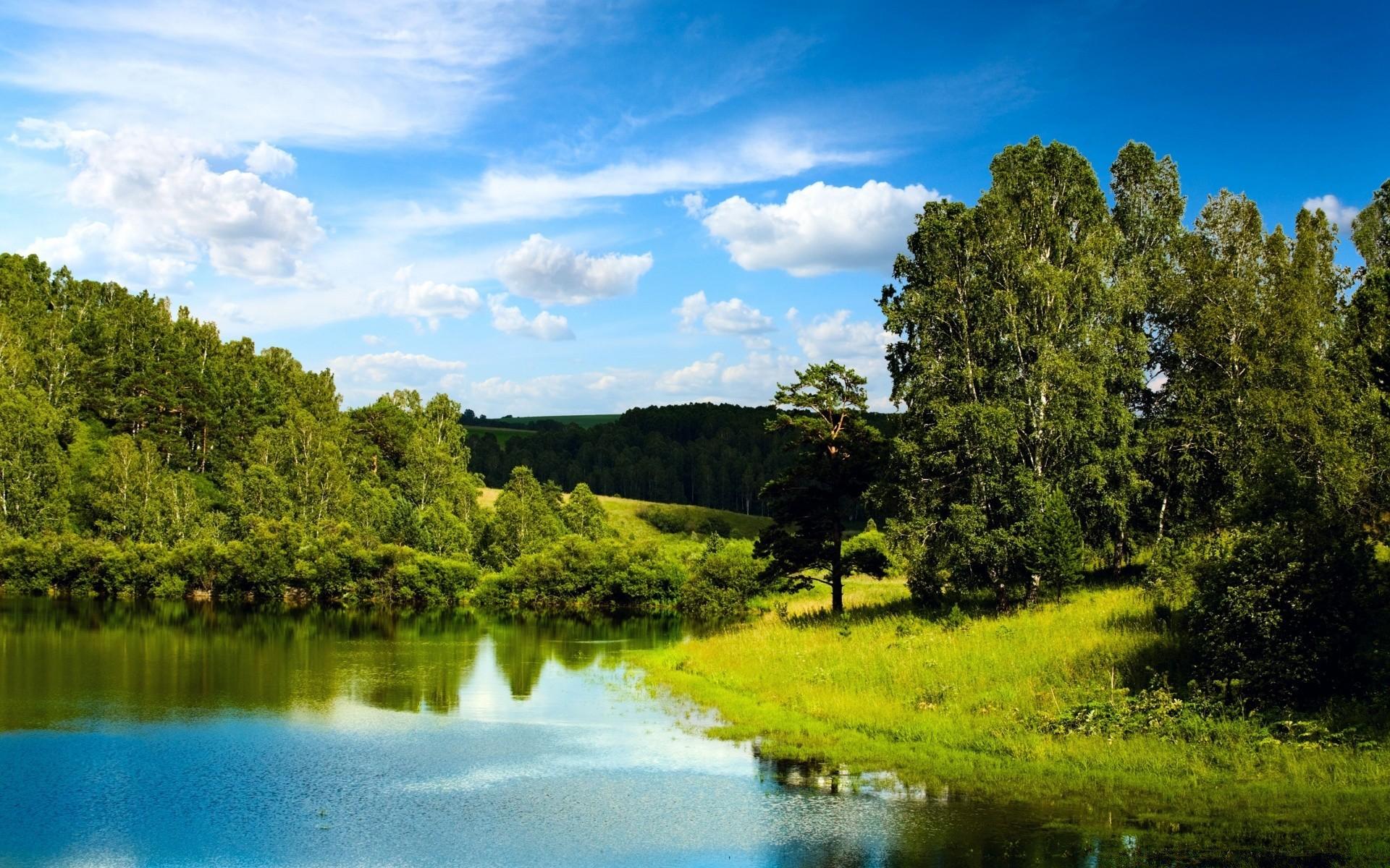 интернете картинки на рабочий стол реки озера летом крайнем случае