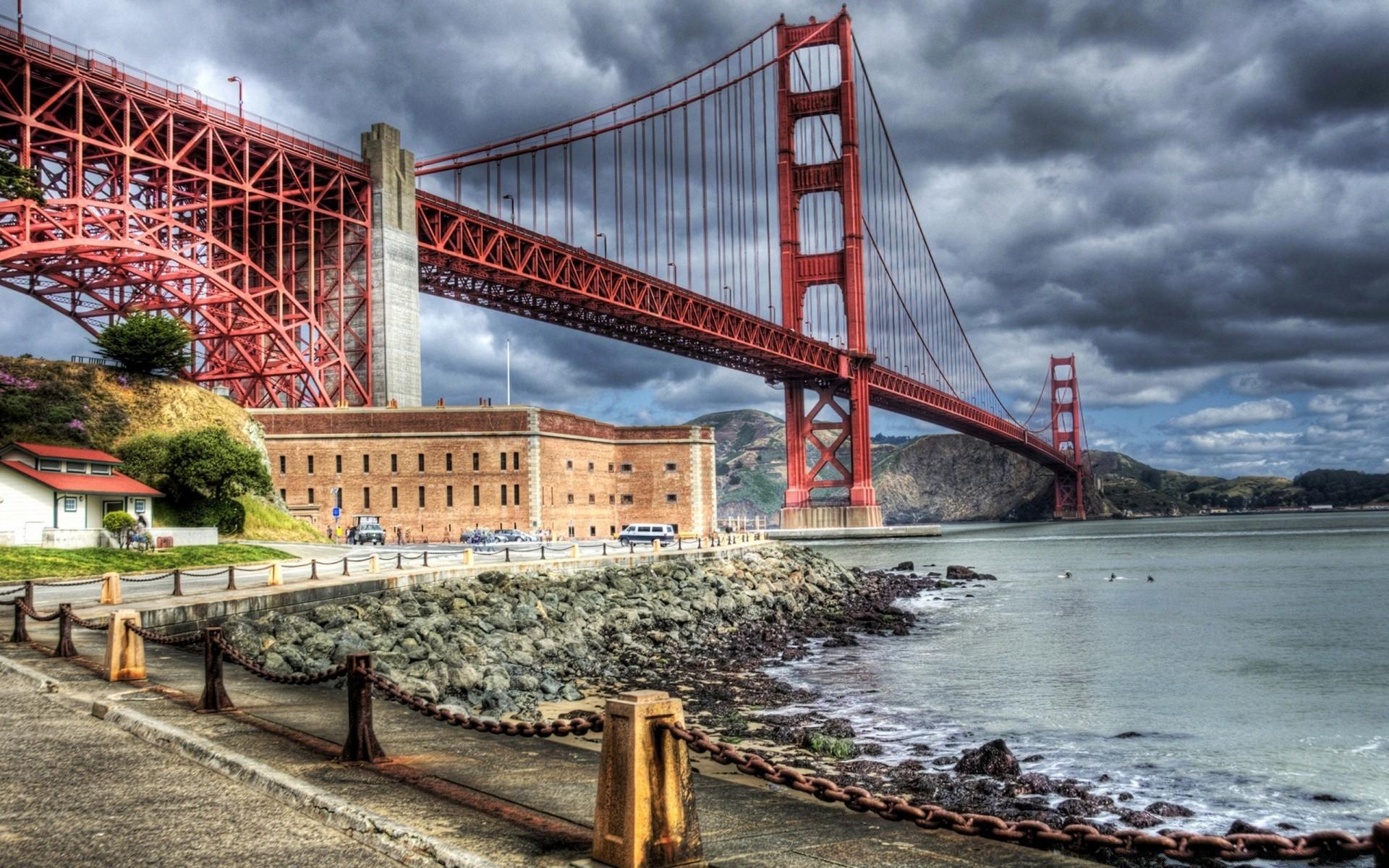 Картинки города и мосты
