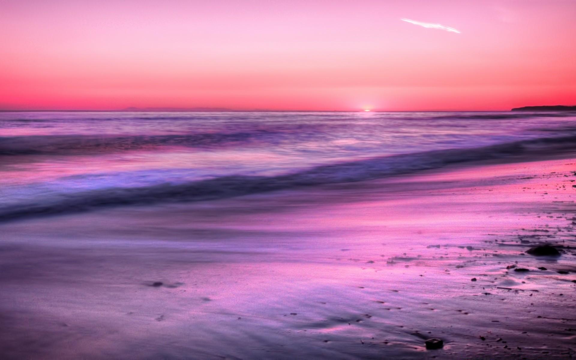 поверьте, картинки фиолетовый закат над морем бегония