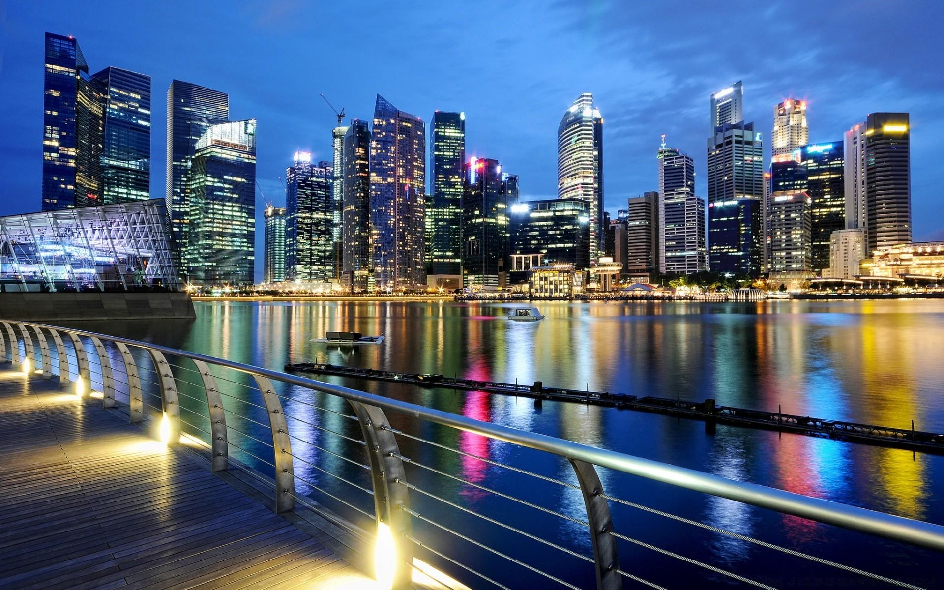 Фото ночного города на рабочий стол