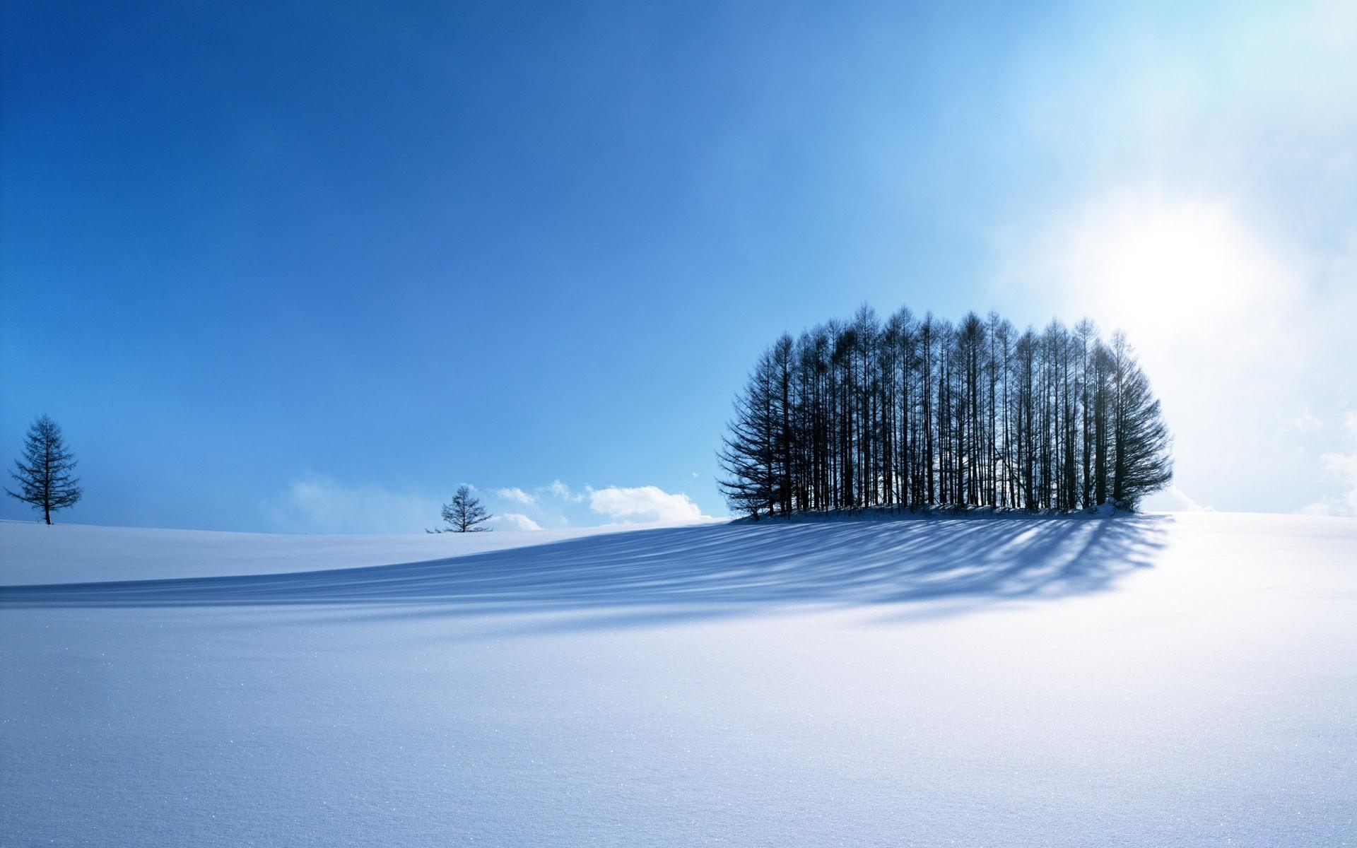 Картинки на обои рабочего стола природа зима