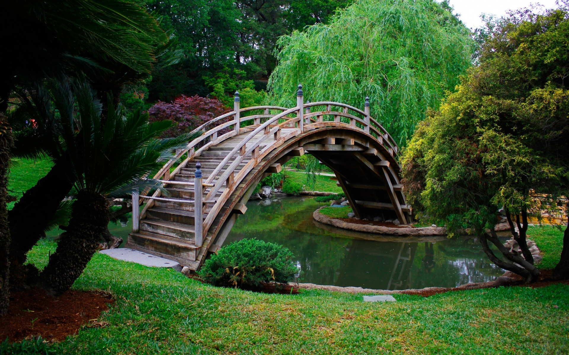 Открытки красивых парков