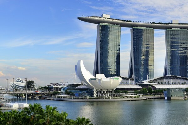 Marina Bay Sands в Сингапуре