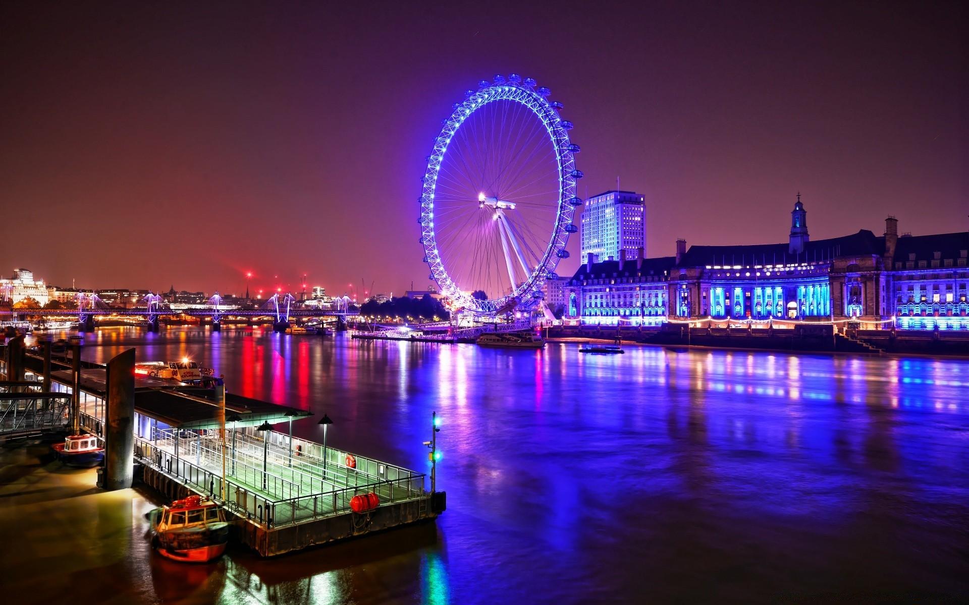 Ночные картинки лондон