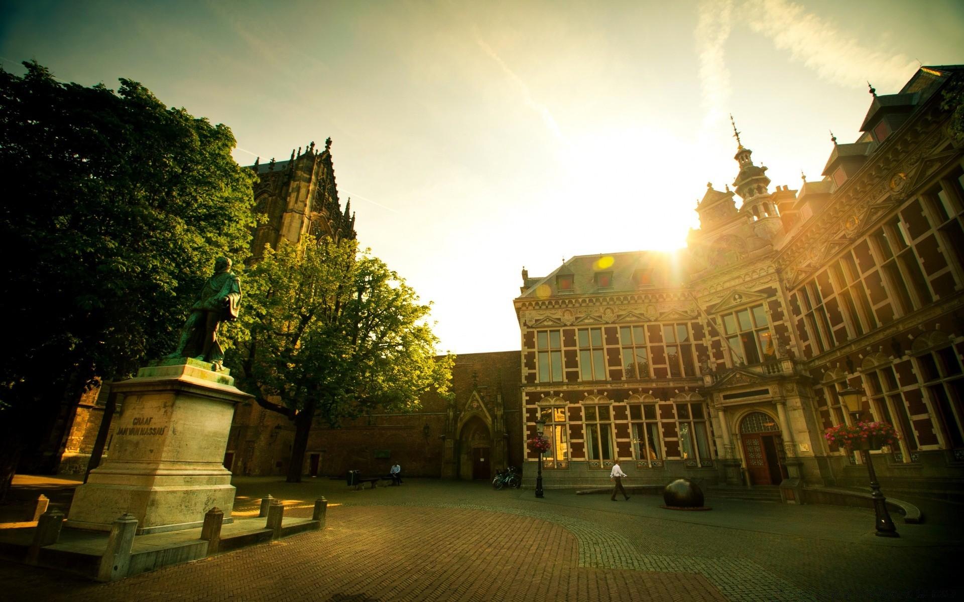 Обои нидерланды, замок, утрехт. Города foto 17
