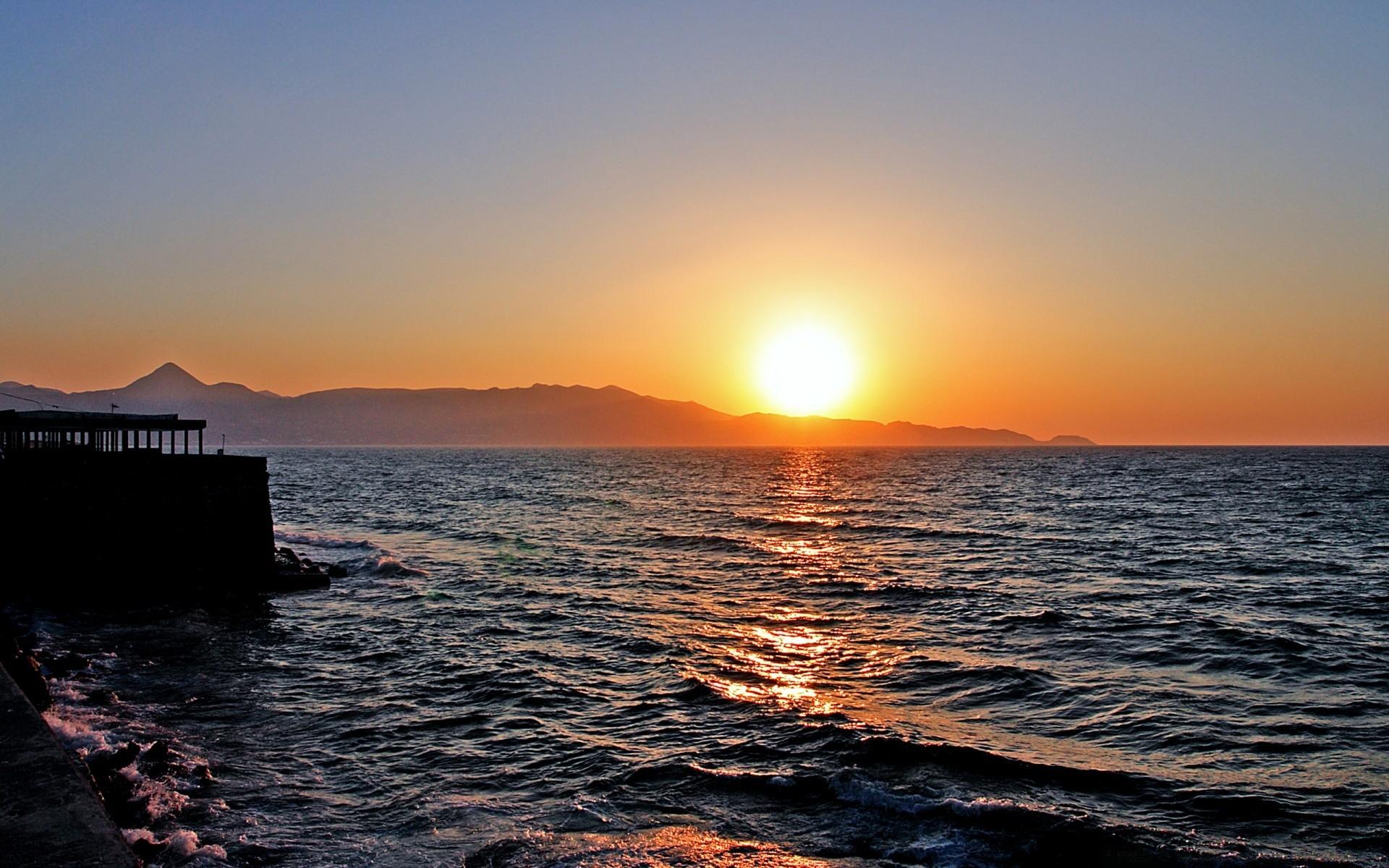 заход солнца в херсониссосе фото