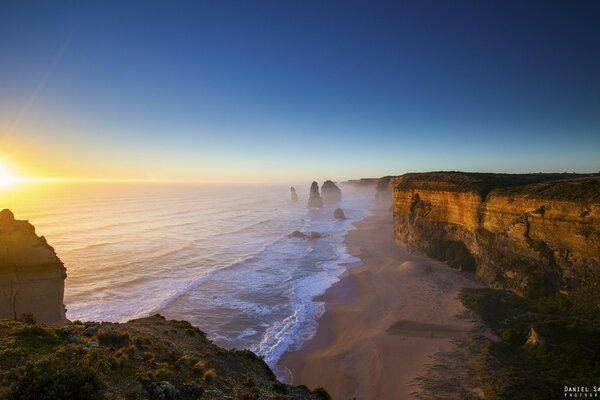 Двенадцать апостолов Great Ocean Road Виктория Австралия
